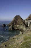 Bridge on Highway 1 Stock Photography