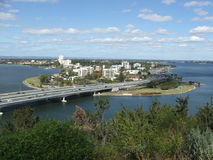 bridge highway Στοκ Φωτογραφία