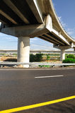 Bridge and highway. Royalty Free Stock Image