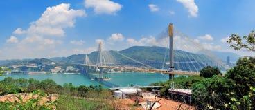 Bridge in Hong Kong Royalty Free Stock Image