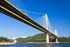 Bridge in Hong Kong at day Royalty Free Stock Photography