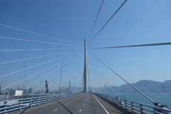 Bridge in Hong kong. Somewhere in hong kong Stock Photo