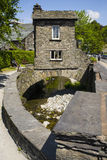 Bridge House in Ambleside. CUMBRIA, UK - MAY 31ST 2016: A view of the historic Bridge House in Ambleside, the Lake District, on 31st May 2016 Royalty Free Stock Photography