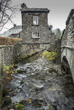 Bridge House Ambleside English Lake District. Cumbria  near lake Wndermere Royalty Free Stock Photos
