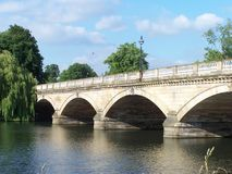 Bridge in Hyde park Royalty Free Stock Photography