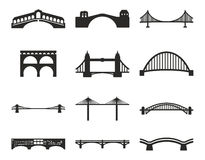 Bridge Icons Royalty Free Stock Image