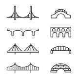 Bridge icons Royalty Free Stock Photo