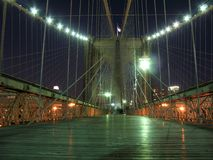 bridge illuminated Στοκ φωτογραφίες με δικαίωμα ελεύθερης χρήσης
