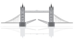 Bridge  illustration Royalty Free Stock Images