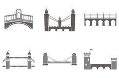 Bridge  illustrations Stock Image