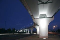 Bridge iluminated Stock Photos