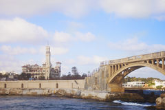 Free Bridge In Alexandria And Palace, Egypt Royalty Free Stock Images - 93280679