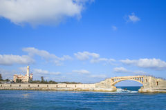 Free Bridge In Alexandria And Palace, Egypt Royalty Free Stock Photography - 93281547