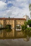 Bridge In Amberg Stock Images