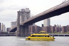 Bridge In Manhattan Royalty Free Stock Photo