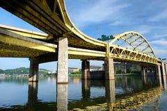 Free Bridge In Pittsburgh, Pennsylvania Stock Photo - 74009480