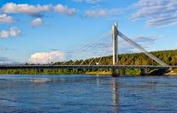 Bridge In Rovaniemi Stock Photo