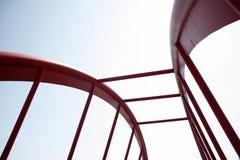 bridge inställningen Royaltyfri Fotografi