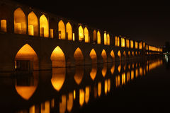 Bridge in Isfahan Stock Images