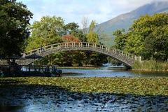 Bridge. Islands are linked by bridges Stock Image