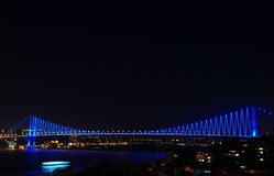 Bridge in istanbul Stock Images