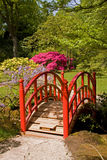 Bridge at japanese garden. Largest japanese garden outside of Japan Stock Image