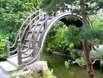 Bridge in Japanese Garden Royalty Free Stock Photography