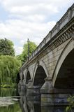 Bridge in Kensington Gardens Stock Images