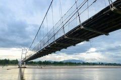 The bridge. King Taksin, Tak Thailand Stock Image