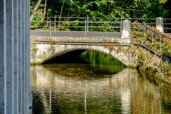 Bridge in Koenigsbronn royalty free stock photos