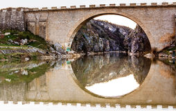 Bridge in Kosovo Stock Images
