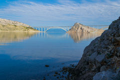 Bridge Krk Stock Photography
