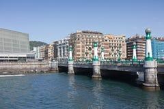 Bridge of Kursaal on San Sebastián Stock Images