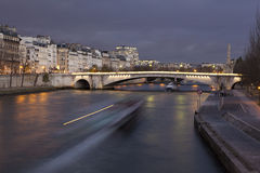 Bridge of La Tournelle, Paris Stock Photos