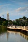 Bridge Lake. Landscape  in Ubon Ratchathani Thailand Royalty Free Stock Image