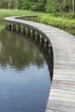 Bridge and lake Royalty Free Stock Photography