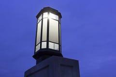 Bridge lamp in Harrisburg Royalty Free Stock Image