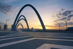 Bridge landscape Royalty Free Stock Images