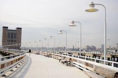 Bridge with lanternes Royalty Free Stock Images