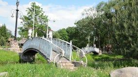 Bridge lapm ancient stock footage