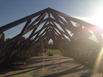 Bridge in las condes in santiago Chile royalty free stock photo