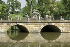 Bridge in Lazienki park in Warsaw. Poland Stock Photography