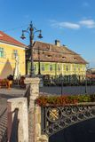 City of Sibiu in Romania Royalty Free Stock Photography
