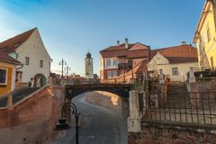 City of Sibiu in Romania Royalty Free Stock Image