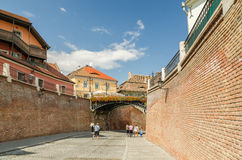 The Bridge Of Lies In Sibiu Stock Images
