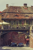 Bridge of lies, Sibiu, Romania Stock Image