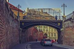 Bridge of lies, Sibiu, Romania Royalty Free Stock Image