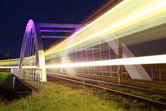 Bridge for light rail near Stuttgart Stock Image