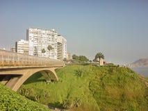 Bridge of the Lima City Stock Image