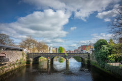 Bridge in Limerick. One of the old stone bridges in Limerick city, Ireland Stock Images